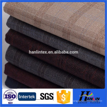 Шерстяная шерстяная ткань с использованием мужской одежды / ткани из трёх шерстяных тканей высокого качества