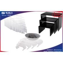 Wholesales Customers Acrylic Risers Display, Table Display