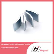 Venda quente Cutomized segmento Permant de NdFeB no Motor
