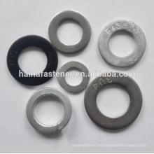 Acero inoxidable / cartón de acero Lavadora plana DIN125 F436 lavadora (M3-M100)