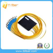 Prix OEM diviseur de fibre optique PLC 1x8