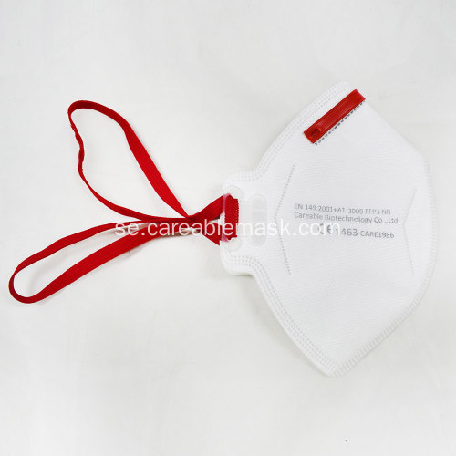 En149 FFP3 Mask Head Band Icke-ventilerad CE