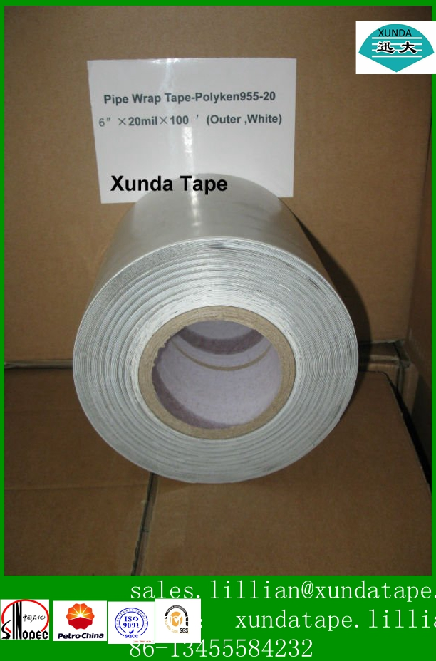 Stainless Pipe Outer Polyethylene Tape For Elbow Pipe
