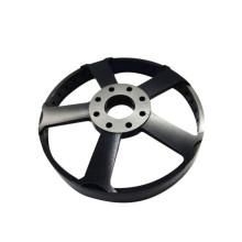OEM Black Bike Parts Anodizing Aluminum Metal CNC Milling Parts with Drilling Service