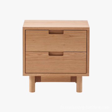 مبلمان چوبی 2DRW Wood Nightstand Sest