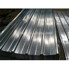 Hot Trapezoidal GI PPGL PPGI Galvanized Zinc Aluminum Steel Sheet
