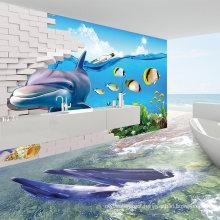 Netherlands Hotel 3D Design Ceramic Tile Flooring Bathroom Pictures