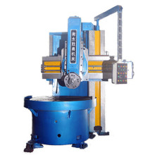 Metal turning manual vertical lathe machine