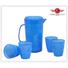 Plastikkrug und Becher Set (LFR1218)