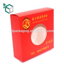 Hohe Qualität Pantone Farbdruck Erfahrung Herstellung Logo Druck Klapp einfache Donut Box
