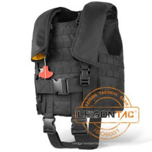 NATO Floating Bullet Proof Vest, Concealed Stab Military Ballistic Vest for tactical security outdoor sports Protect Body
