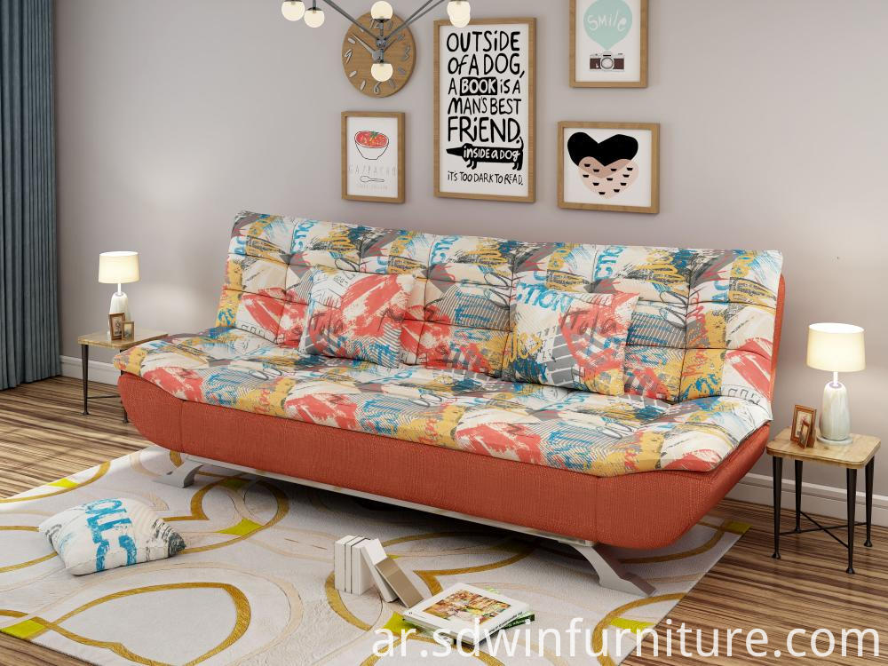 Soft hotel sofa bed