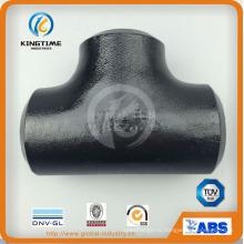 Высокого качества ASME B16.9 стыковой сварной фитинга углеродные стальных труб фитинг (KT0297)