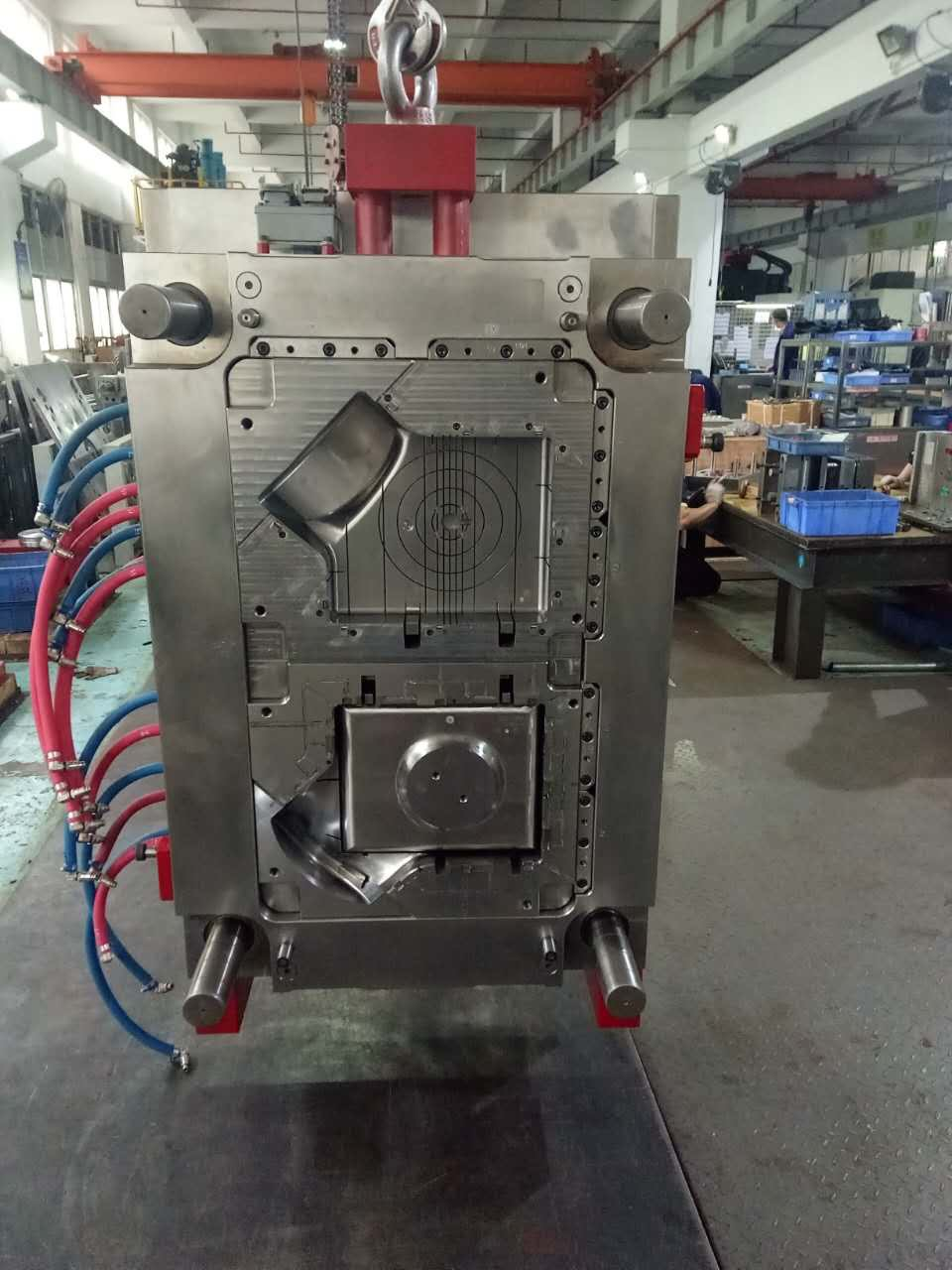 Auto injection mold parts