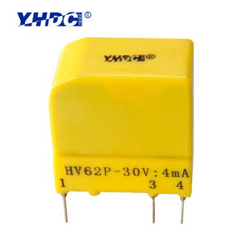 Low price for sale hall effect voltage sensor HV62 rated input 50V/100V
