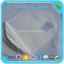 Poudre blanche abrasive blanche de corindon d'alumine fondue pour réfractaire