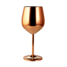 304 stainless steel wine glass 12oz colored wine glass
