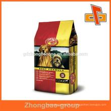 Tipo diferente de saco de alimentos para animais de estimação / bolsa de plástico para embalagens de alimentos para animais