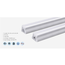 Dimmable Aluminum T8 3000K 2ft LED Tube Light