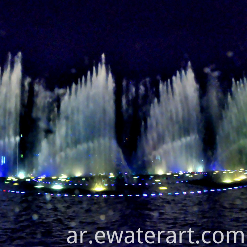 Decorative Small Water Dancing Musical Fountain