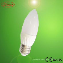3W LED bougie, ampoule, lampe