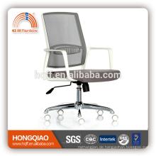 CM-B206BSW-1 Mesh Mitte hinten Stoff Sitz Armlehne Personal Stuhl Chrom Metall Bürostuhl