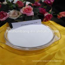 plastic raw material PVC Resin sg5