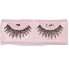 Customized logo fashion natural magnetic 3d custom human hair natural eyelashes