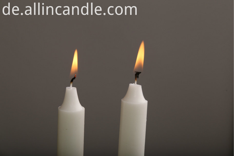 straight candle