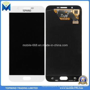 Asamblea de la pantalla táctil de la pantalla LCD del teléfono móvil para Samsung Galaxy A8