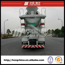 Mélange concret de poids de 8805tare (kilogramme), camion de réservoir pour des acheteurs