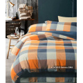 Printed Bed Sheet Set, King Size - Checkerboard - By Clara Clark, 6 Piece Bed Sheet 100% Soft Brushed Microfiber