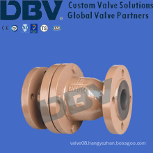 Rubber Lined Flanged Swing Check Valves
