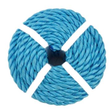Polypropylene  3 strand splitfilm rope