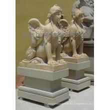 Escultura de piedra tallada de la estatua de la escultura para la decoración del jardín (SY-X1759)