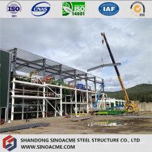 Steel Double Floor Structure for Workshop