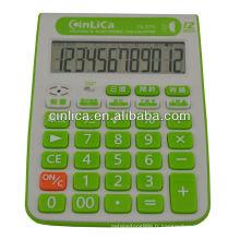 Calculatrice de bureau parlant avec réveil TA-373