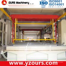 Équipement / machine de galvanoplastie de rendement élevé