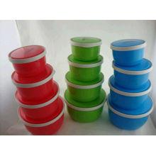 Hot vente 4sets pas cher en plastique alimentaire boîte Wolesale avec de haute qualité
