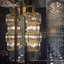 Мода круглый и Самомоднейший кристаллический привесной светильник с отелем