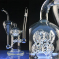 Large Inline Glass Water Pipe for Smoking with Perc (ES-GB-024)