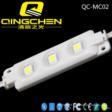 Best Quality 3 Chips 5050 0.72W Injection LED Module with High Brightness and Waterproof