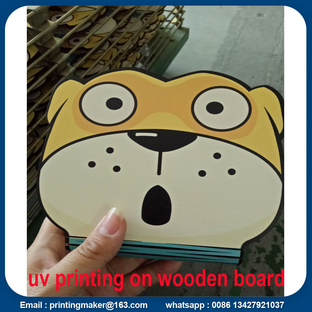 Wooden Sign Board Printing