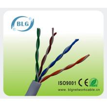 Cable de la red del gato cat5 del cobre desnudo