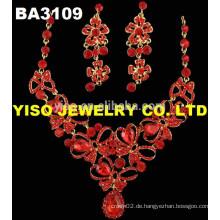 Luxus Kristall Halsketten