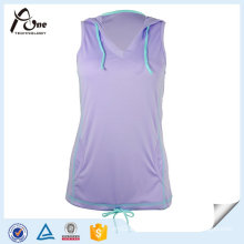 Hot Selling Customized Dry Fit Womens Sports Vests/Tank Top