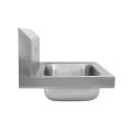Lavatório de mão com suporte para parede com backsplash