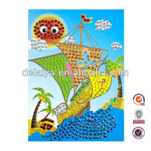2014 new design A4 size DIY mosaic art toys for kids