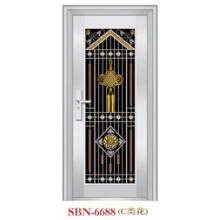 Porta de aço inoxidável para a luz do sol exterior (SBN-6688)