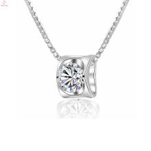 Jóia de prata quente do pendente da prata esterlina do coração 925 para mulheres